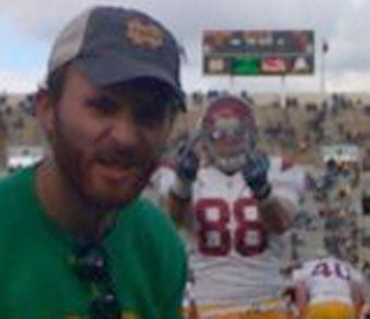USC's Blake Ayles Thanks Notre Dame Fans For Their Hospitality