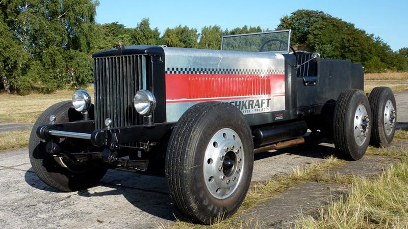 Meet Germany's Tri-Axle Two-Stroke Diesel Truck Hot Rod