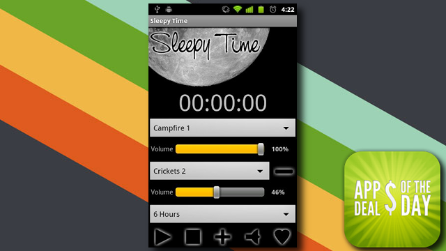 Daily App Deals: Get Sleepy Time for Android for Only 99¢ in Today's App Deals