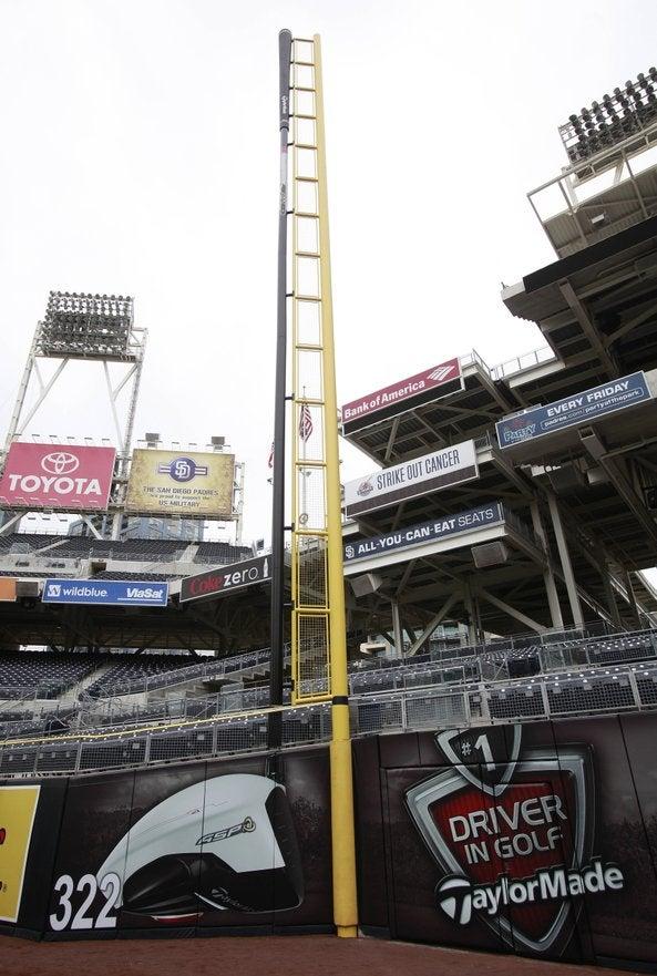 Baseball Advertising Creeps Into Fair Territory