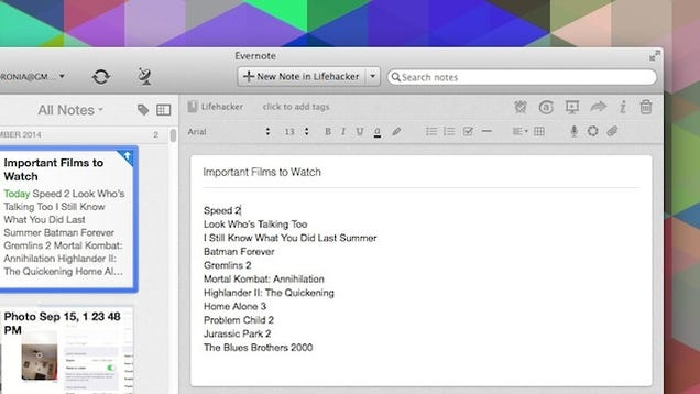 Evernote for Mac Rebuilds the Notes Editor, Improves Tables, and More