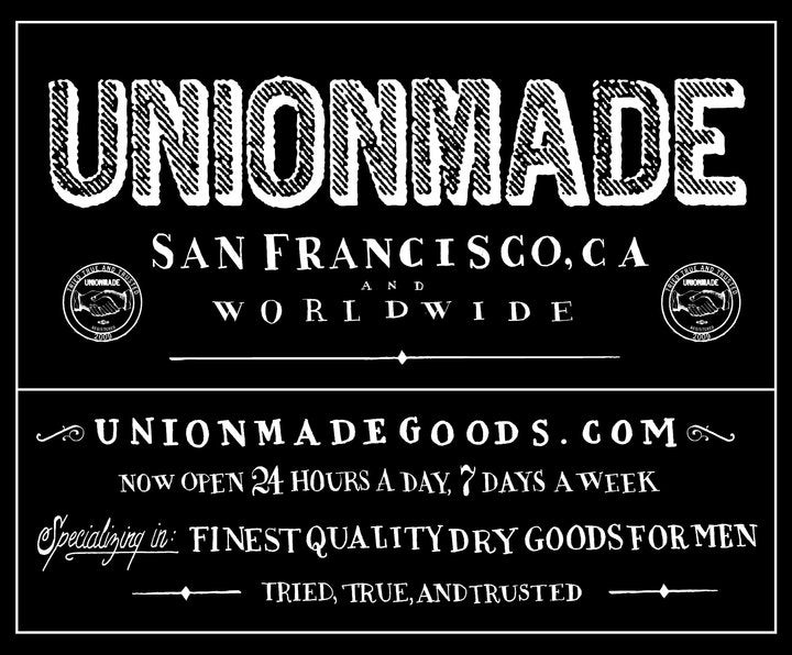 Unionmade: Retailer of Expensive Fashions That Are Not Union Made