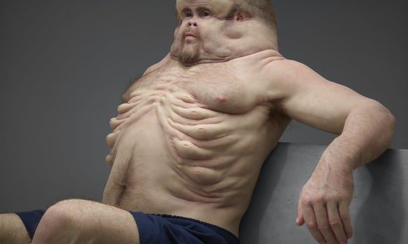 This Is What Humans Would Look Like If They Evolved to Survive Car Crashes
