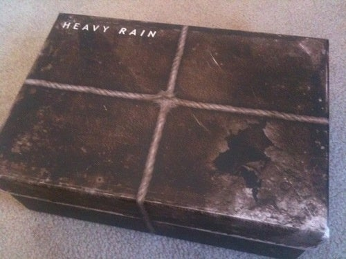 Heavy Rain's Mysterious Mailing