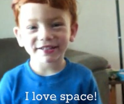 This 2-Year-Old Kid Knows More About Space Than You Do