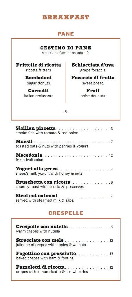 Morandi Serves Breakfast, Sono Molto Confuso