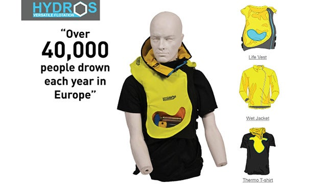 A Lifejacket That Keeps You From Drowning and Freezing