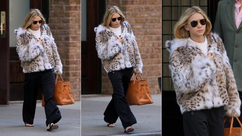 Ashley Olsen Spotted With Cold Feet