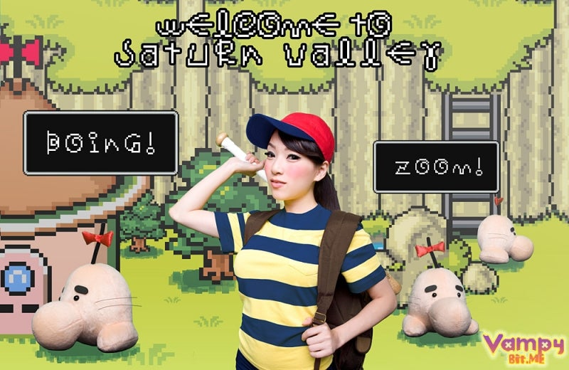 One Mother Loving EarthBound Cosplayer