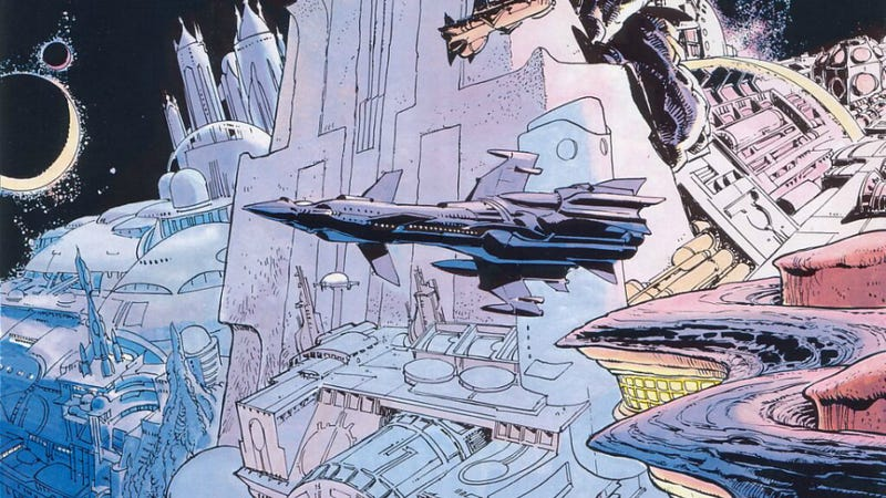 Luc Besson adapting classic time-travel comic created by Fifth Element concept artist