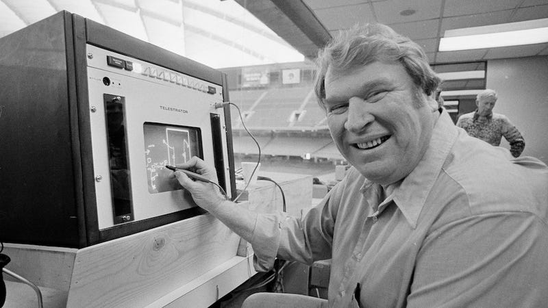 John Madden Is Still Eating Like A Weirdo