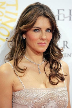 Underfed Liz Hurley Makes For Underweight Babies