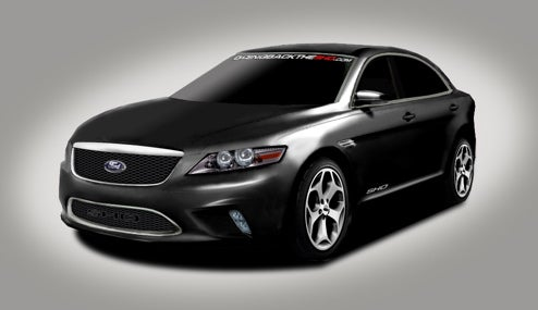 2010 Ford Taurus SHO Renderings Updated