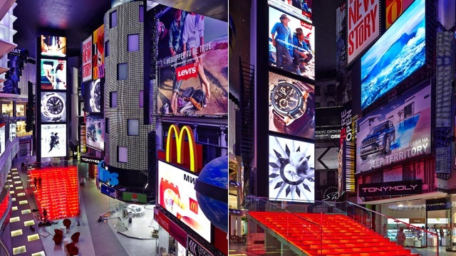 Moscow's Replica of Times Square Looks Startlingly Realistic