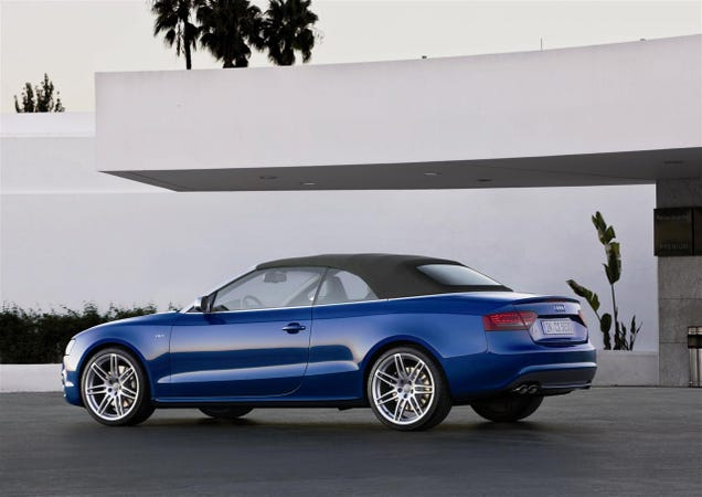 Audi A5 S5 Convertibles Open For Business