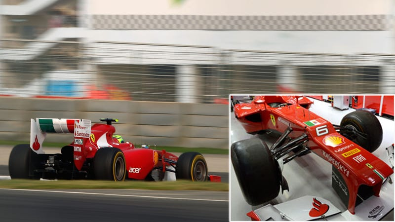 Ferrari F1 Team Tries To Calm International Incident By Acting Like Dicks