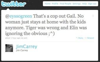 Jim Carrey Continues To Blame Elin Nordegren, Women In General, On Twitter