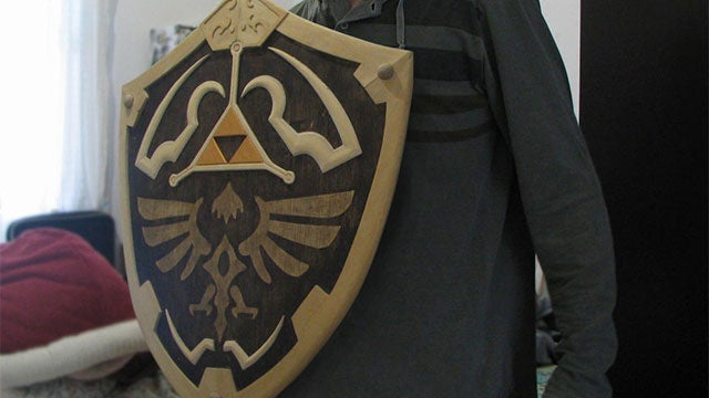 What a Hylian Shield Looks Like in the Real World
