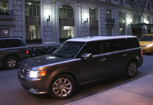 We Get Exclusive Ride In 2009 Ford Flex, Chauffeur To Hyundai Dinner