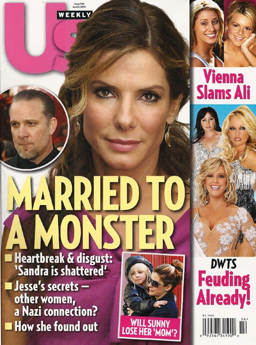 This Week In Tabloids: Another Woman Claims She Had Couch Sex With Jesse James