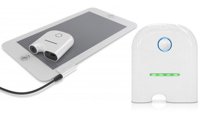 A Solar Charger That Rewards You for Staying Off the Grid