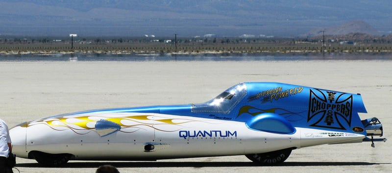 Jesse James Sets Hydrogen Land Speed Record At 199.7 MPH