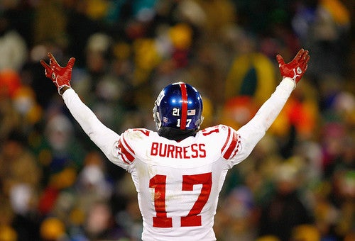 Giants Rid Themselves Of Plaxico Burress