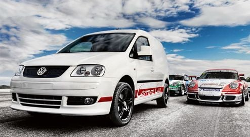 VW Caddy Carrera Cup Edition: A Diesel Porsche Van?