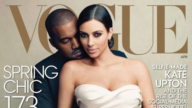 Vogue Beat Out Harper's Bazaar and Vanity Fair For the Kimye Cover