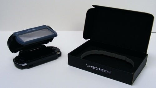 V-Screen Faux-3D PSP Kit: Yes, It Actually Works