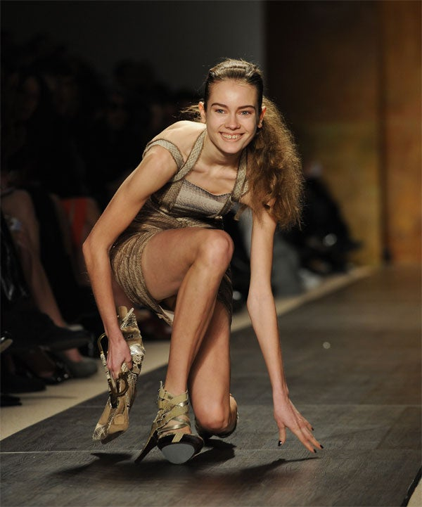 Top 10 All-Time Model/Runway Mishaps