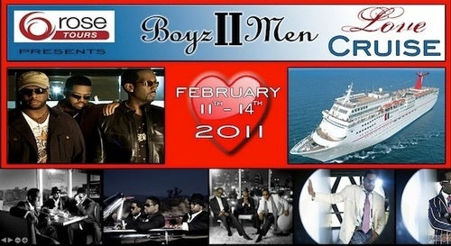 Set Sail On The Boyz II Men Love Cruise! (You Know You Want To)