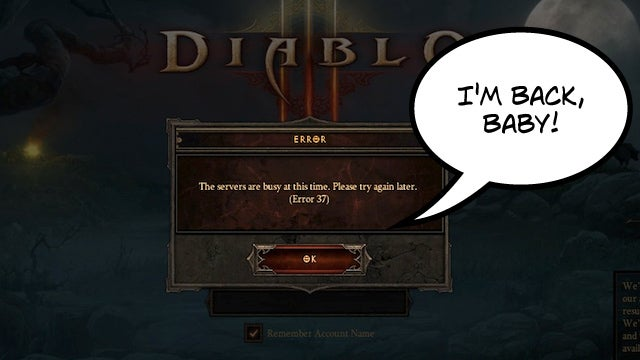 """Diablo III's Error 37: """"Don't Call It A Comeback!"""""""