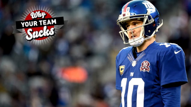 Why Your Team Sucks 2015: New York Giants