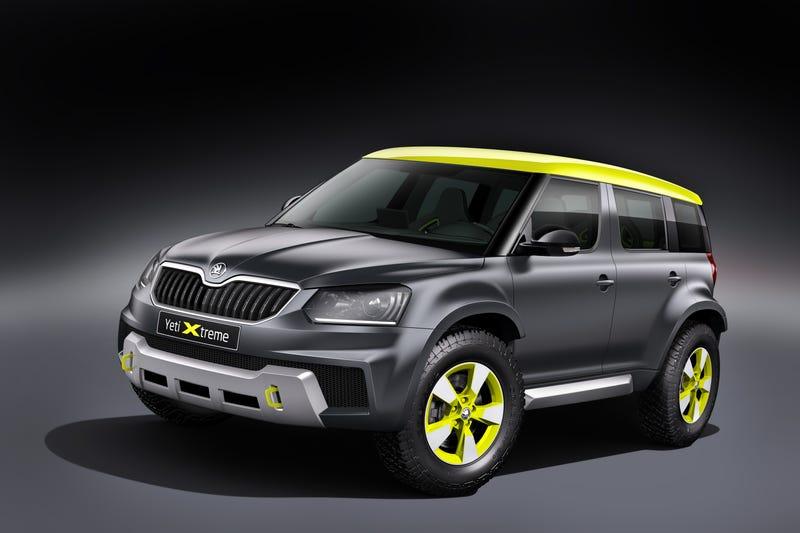 Skoda Yeti Xtreme Brings Much-Needed Badassity To Micro SUVs