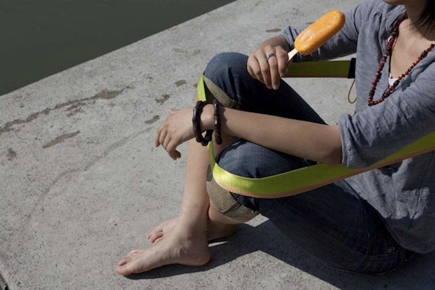 The Weirdest Chair You'll Ever Carry In Your Pocket