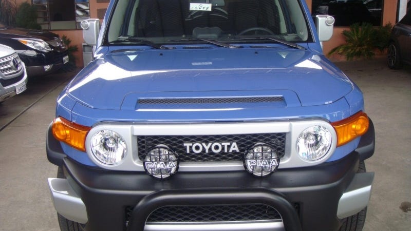 Toyota FJ Cruisers May Cause Temporary Blindness