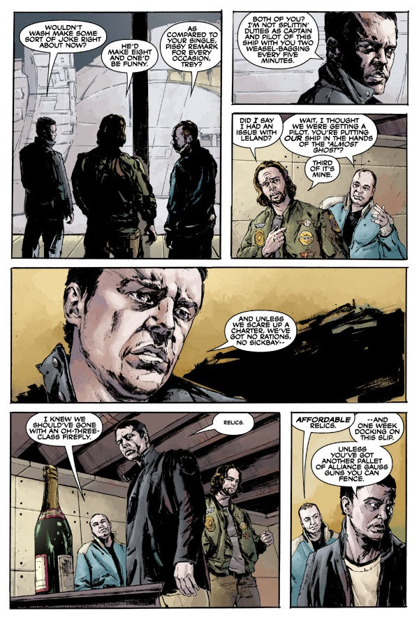 Exclusive Preview: Patton Oswalt Does A Firefly Comic