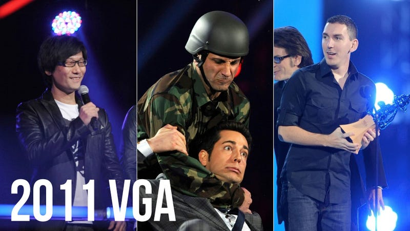 The 2011 VGAs: All the Videos, All the Games, All the Awards