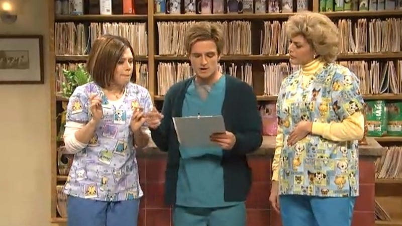 SNL's Animal Hospital of Horrors Delivers Bad News with Apathy