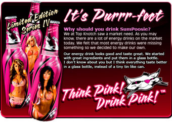 Have You Tried 'The Girls Gone Wild of Energy Drinks' Yet?