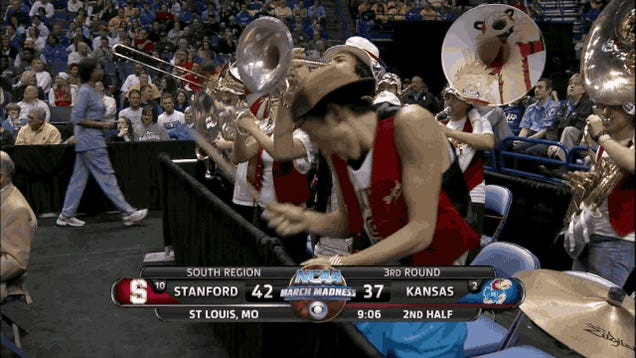 Is The Stanford Band Smuggling Booze In Tubas?