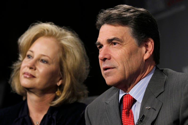 Rick Perry Says His Wife Misspoke When She Said Abortion Is a Right