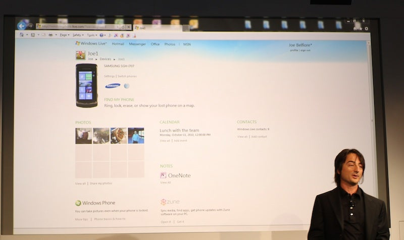 Windows Phone 7 Launch Live Coverage
