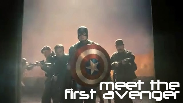 First Look At The Captain America Trailer