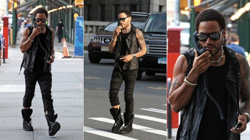 Lenny Kravitz: You Use Your iPhone Like a Dickhead (Updated)