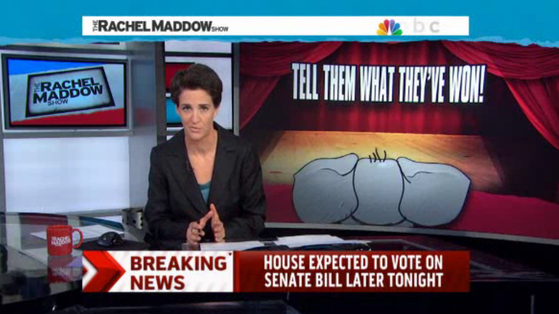 Maddow Brilliantly Explains Why the Right Wing Accomplished Nothing