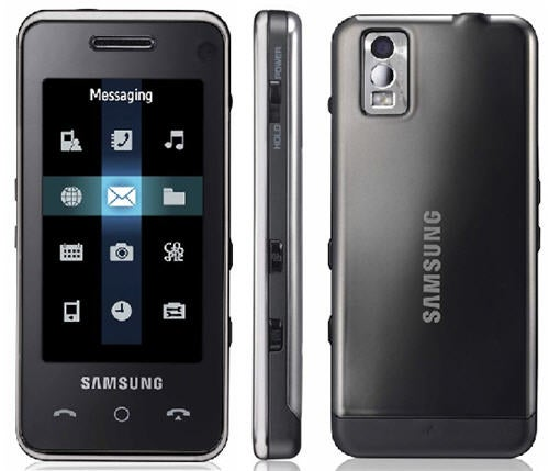 Samsung Touch-Screen F490 Cellphone Launched Today, To Be Licked Later in The Year