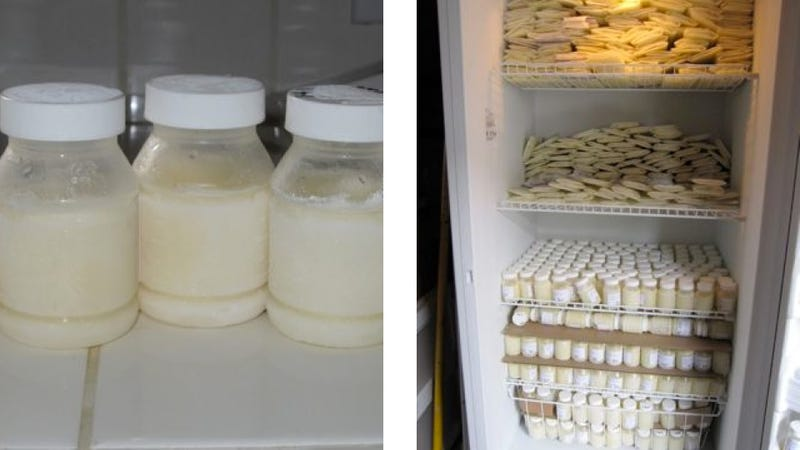 How much breast milk for 7 month old