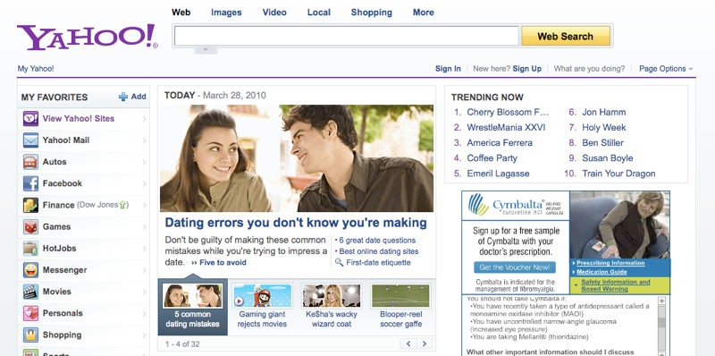 """Yahoo! iPad App Looks Better Than the Web Site, but Is it """"Magical?"""""""